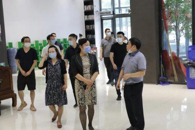 北京朝阳区委常委、宣传部长黄晓伟一行到闽龙集团调研考察